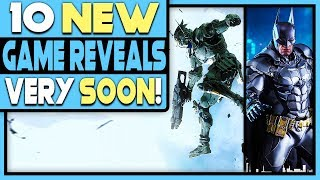 10 New Game Reveals Happening Very Soon   More Ps4 Reveals?