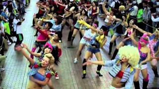 jamdung reggae dancers in 元町商店街 part 1