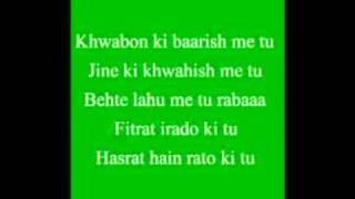 jalwanuma song with lyrics movie ghost 2011