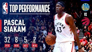 Pascal Siakam Catches Fire! | NBA Finals Game 1