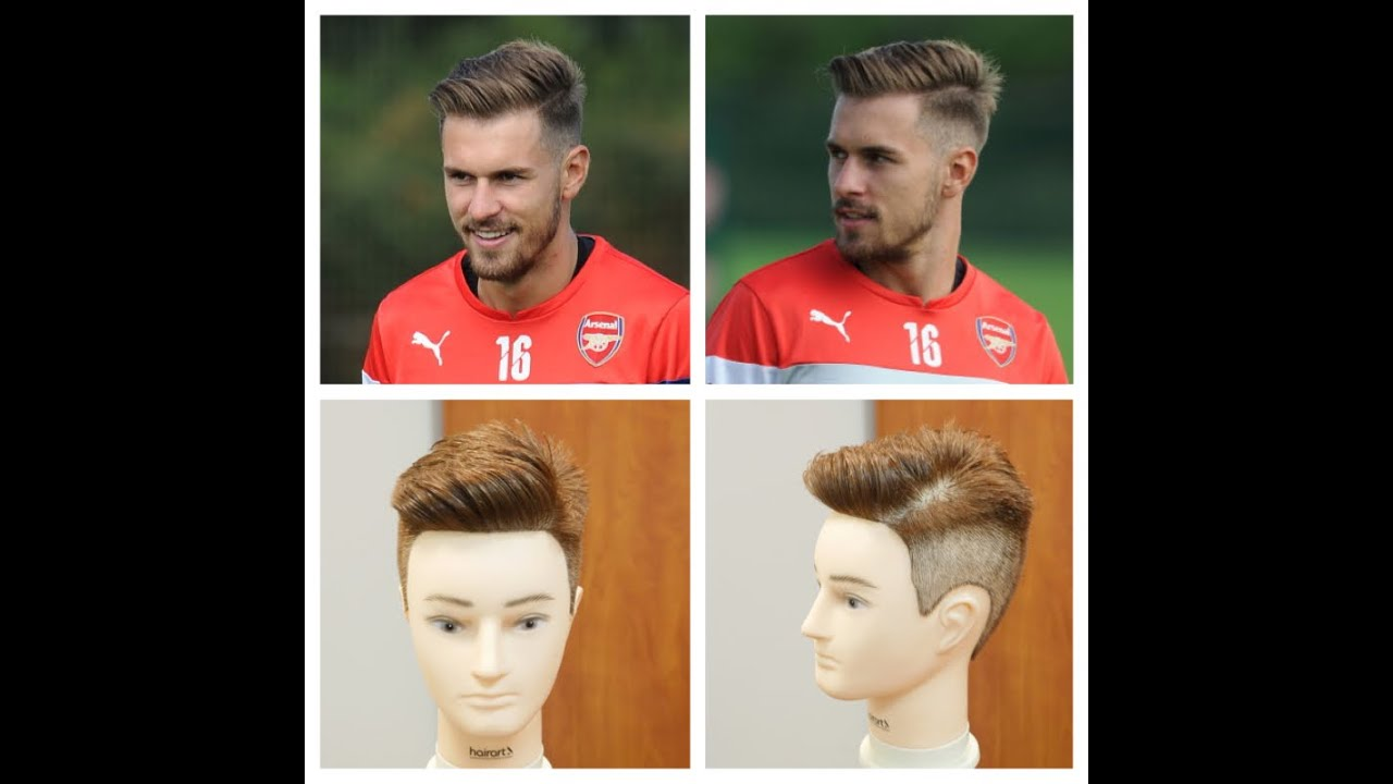 Aaron Ramsey 2014   Haircut Tutorial   TheSalonGuy   YouTube