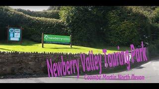 Newberry Valley, Combe Martin, North Devon, Caravan site, Touring park, campsite,