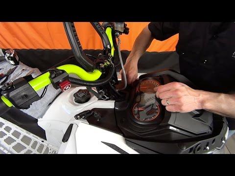 Install Rox Height Adjustable Risers on a SkiDoo Freeride