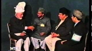 Interview Mubarak Nazir, Muhammad Inaam Ghauri & Attaullah Kaleem at Jalsa UK 1998