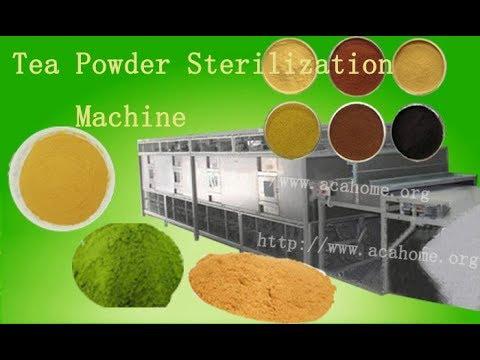 Tea Powder Sterilization Machine ,Industry Microwave Sterilization Equipment
