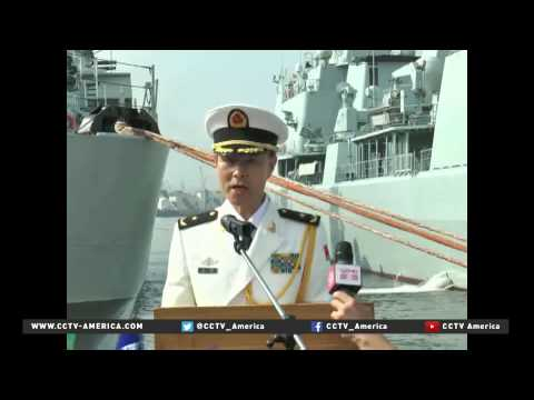 China and Russia forces to conduct beach landing exercise