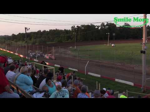 A Mods Heat Race Monett Motor Speedway 6.16.17