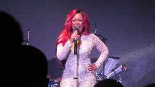 "K. Michelle Performs ""Ride Out"" (New Song) at Highline Ballroom 