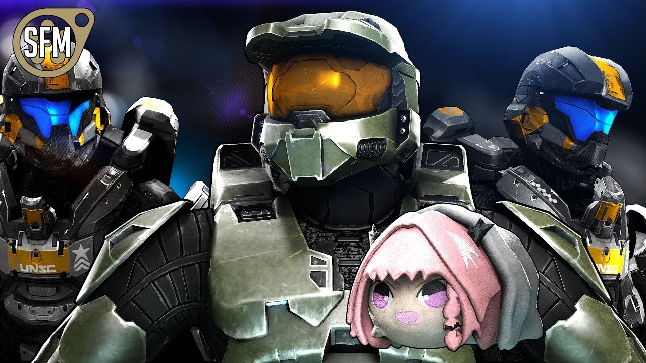 Classic Chief Saves The Day - Halo Sfm Animation 4K -1400