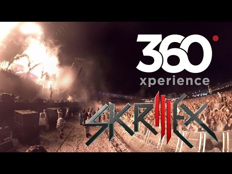 Skrillex Live at Electric Daisy Carnival Brazil in 360 virtual reality