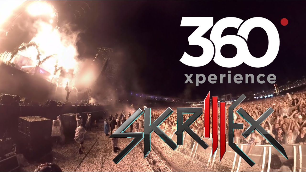 Skrillex Live at Electric Daisy Carnival Brazil in 360 virtual reality video