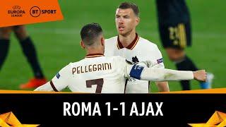 Roma vs Ajax (1-1) | Edin Džeko Scores To Set Up Man Utd Semi-Final | Europa League Highlights
