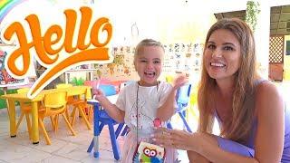 Оливия в детском садике в Доминикане встретила Новый Год 2020