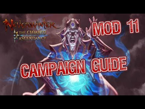 neverwinter how to start cloaked ascendancy