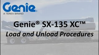 Product Application: SX-135 XC™ Load and Unload Procedures - ANSI