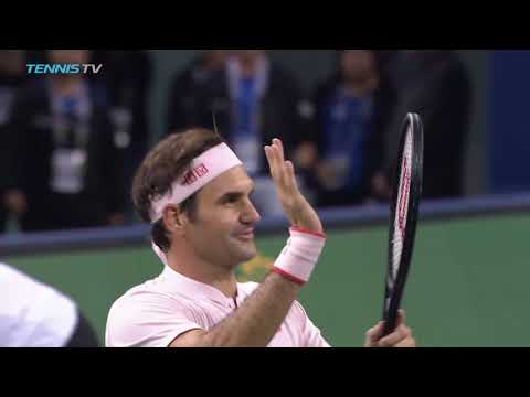 Federer, Nishikori, Del Potro battle through | Shanghai 2018 Highlights Day 4