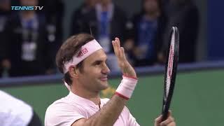 Federer, Nishikori, Del Potro battle through | Shanghai 2018 Highlights Day 4