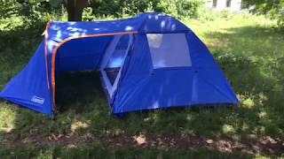 Видео обзор палатки Coleman 1009