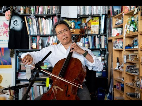 "Yo-Yo Ma Performs the First Classical Piece He Ever Learned: Take a 12-Minute Mental Health Break and Watch His Moving ""Tiny Desk"" Concert"