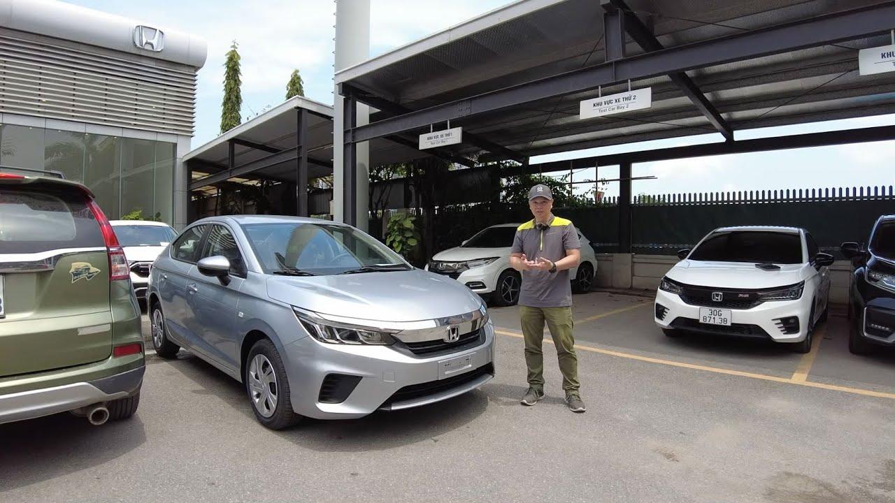 Soi phiên bản E rẻ nhất của Honda City 2021 với giá 499 triệu đồng