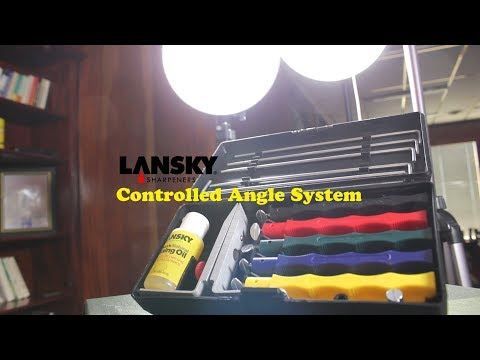 The Lansky Controlled-Angle Sharpening System