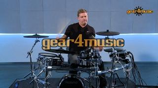 Roland TD-50KV V-Drums Pro Electronic Drum Kit Preset Demo with Craig Blundell