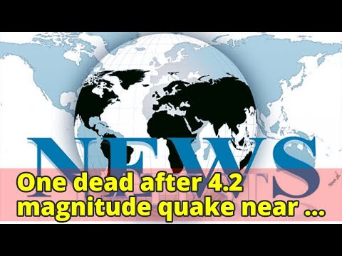One dead after 4.2 magnitude quake near Iran capital Tehran