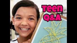 Rykel's turning 13! Q&A