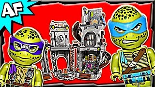 TURTLE LAIR INVASION 79117 Lego TMNT Teenage Mutant Ninja Turtles Stop Motion Set Review