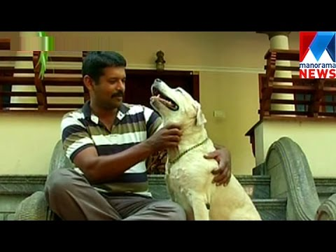 Attachment of police dog Selma with her trainer  | Manorama News