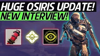 Destiny 2 News - NEW OSIRIS EXPANSION UPDATE Mercury Raid & Activities, PvP Maps, New Loot & More!