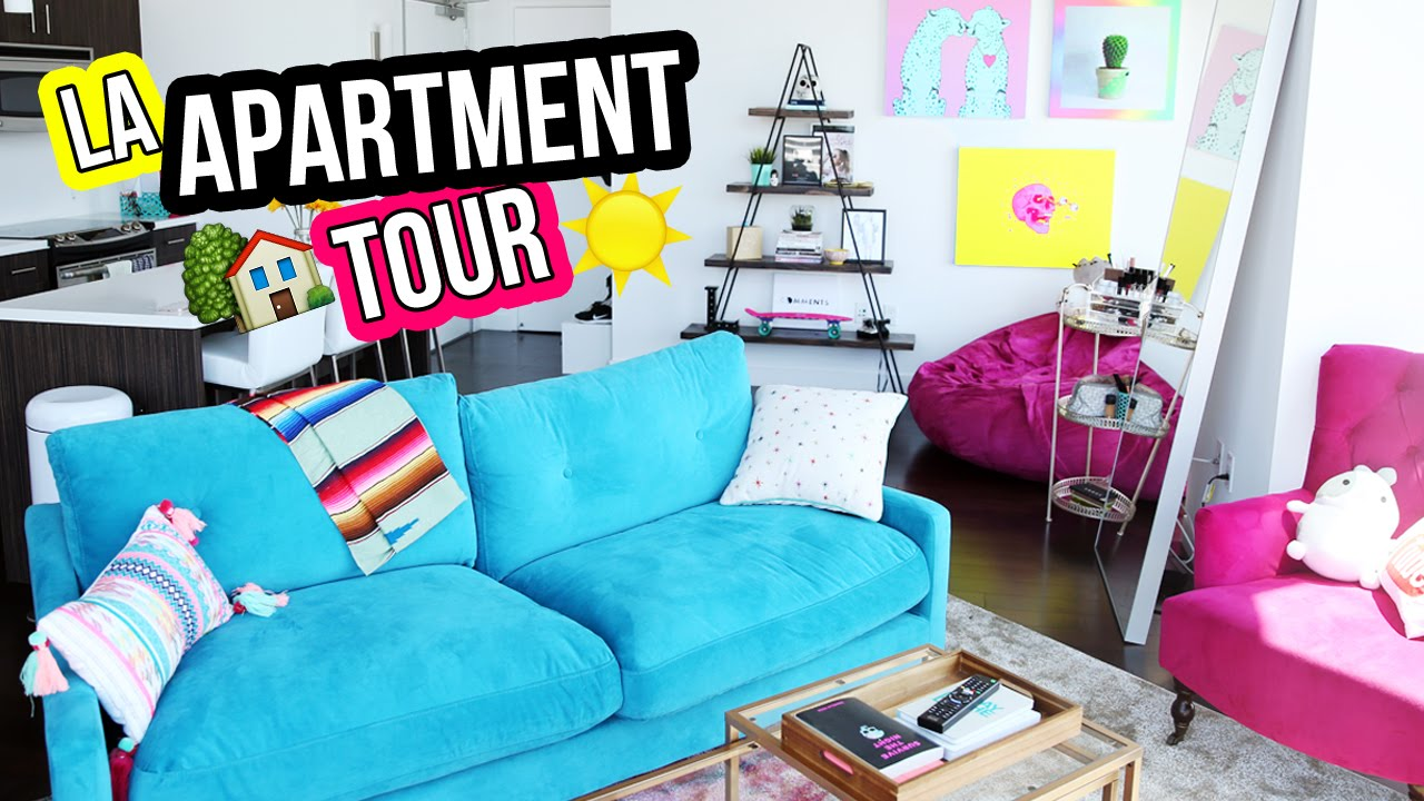 La apartment loft tour laurdiy youtube for Room decor out of paper
