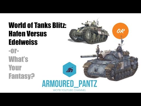 World of Tanks Blitz: Hafen Versus Edelweiss