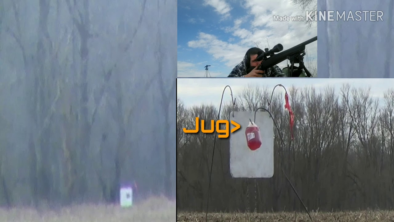 1000 Yard Milk Jug Challenge With Tracers 350$ Remington 783 in 308 (4th Round Impact)