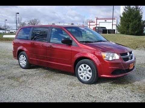 2014 Dodge Grand Caravan SE AVP Minivan Van Red for sale