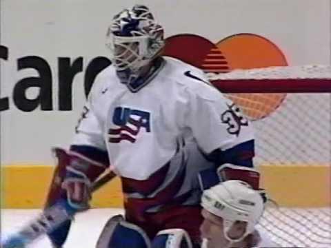 1996 World Cup of Hockey Preliminary Round USA vs Canada