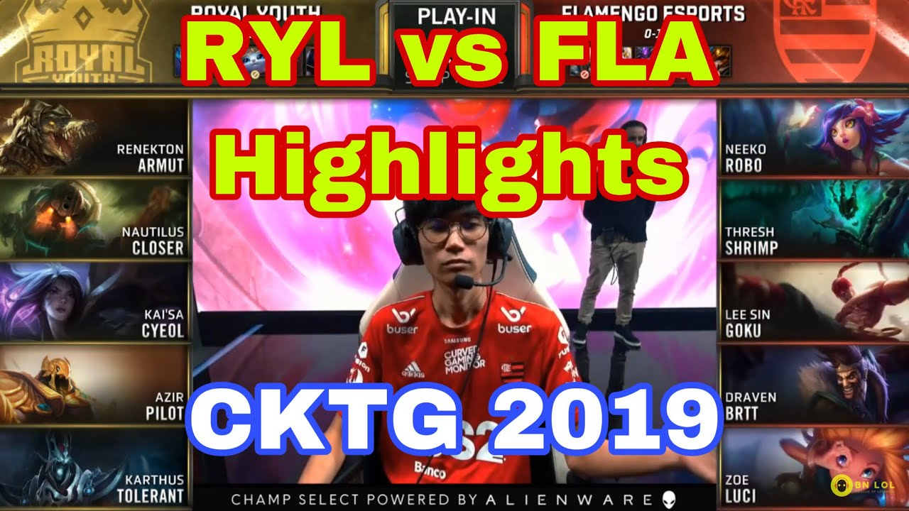 [CKTG 2019] RYL vs FLA Highlights -  Leesin Múa như cái máy - Ngày 2 Bảng D Vòng Khởi Động CKTG