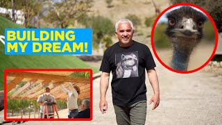 BUILDING OUR EMUS A HOME! (RANCH VLOGS)