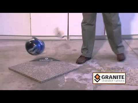 granite transformations bowling ball youtube. Black Bedroom Furniture Sets. Home Design Ideas