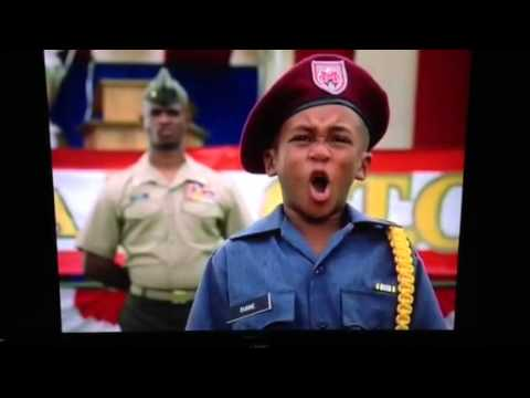 Major Payne tiger dancing D&C competition