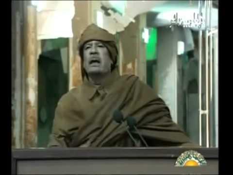 YouTube   Lybie discours de moamar el kadhafi il promet une repression sanglante 22 février 2011