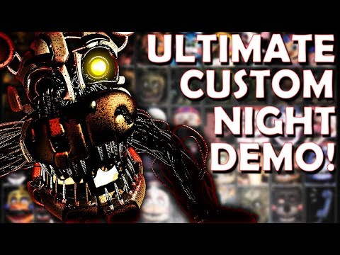 FIVE NIGHTS AT FREDDYS 6 ULTIMATE CUSTOM NIGHT DEMO!  stream w Vapor