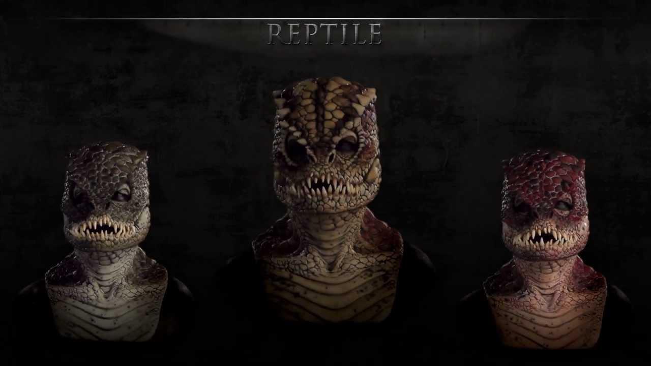 Silicone Masks - Immortal Masks - Reptile - YouTube