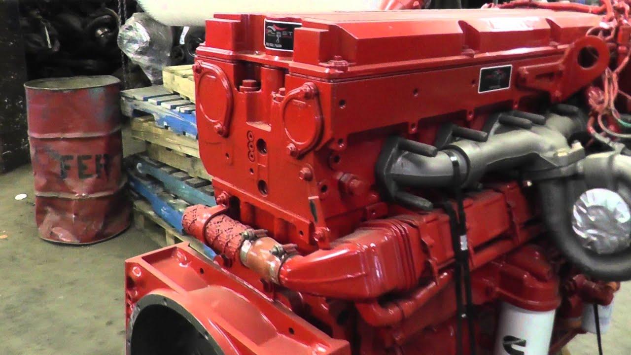 Engine Cummins ISX 475 HP Profleet Reman Stock # 1A1E45685 Lussier Centre  du Camion