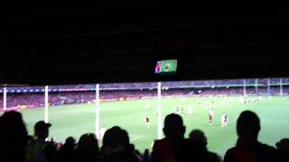 Essendon Bombers into 2011 Finals