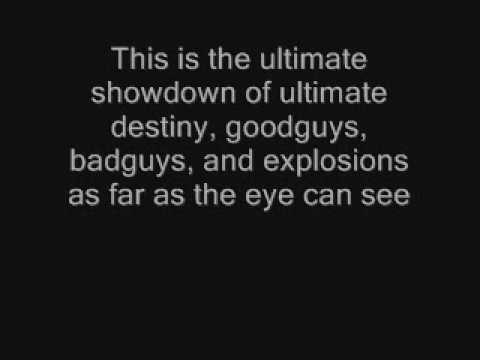 Lemon Demon-The Ultimate Showdown of Ultimate Destiny(with lyrics)