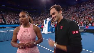 Serena Williams and Roger Federer on-court interview (RR) | Mastercard Hopman Cup 2019 Video
