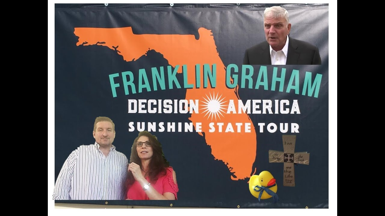 Franklin Graham Decision America Tour Plant City, FL
