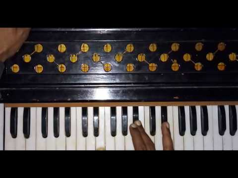 Learn Shabad Kaun Jane Gun Tere On Harmonium