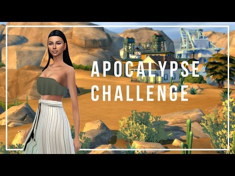 ELIZA PANCAKES DID WHAT?! | The Sims 4: Apocalypse Challenge | Part 1